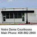 photo of Notre Dame courthouse