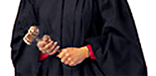 Photo of a judicial gavel