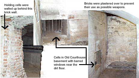 photos taken of courthouse basement