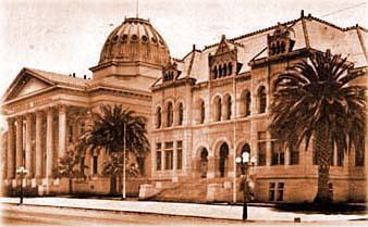 Old photo of Hall of Records